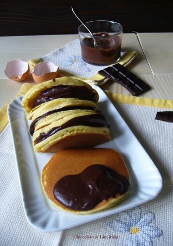 Pancake senza glutine con farine naturali