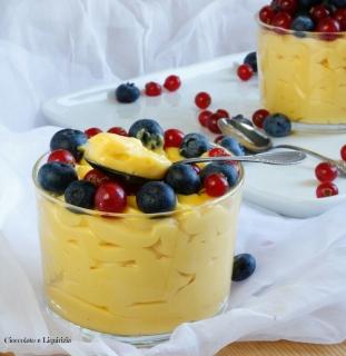 crema pasticcera senza latticini