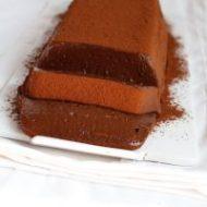 budino al cioccolato con latte vegetale