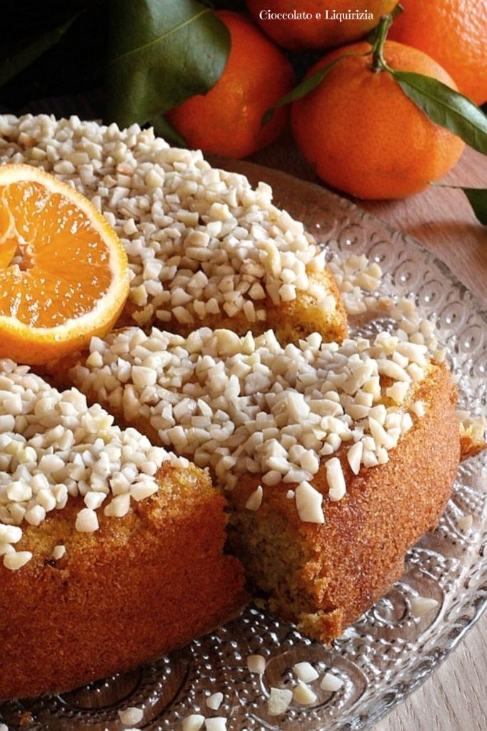 torta di clementine senza lattosio